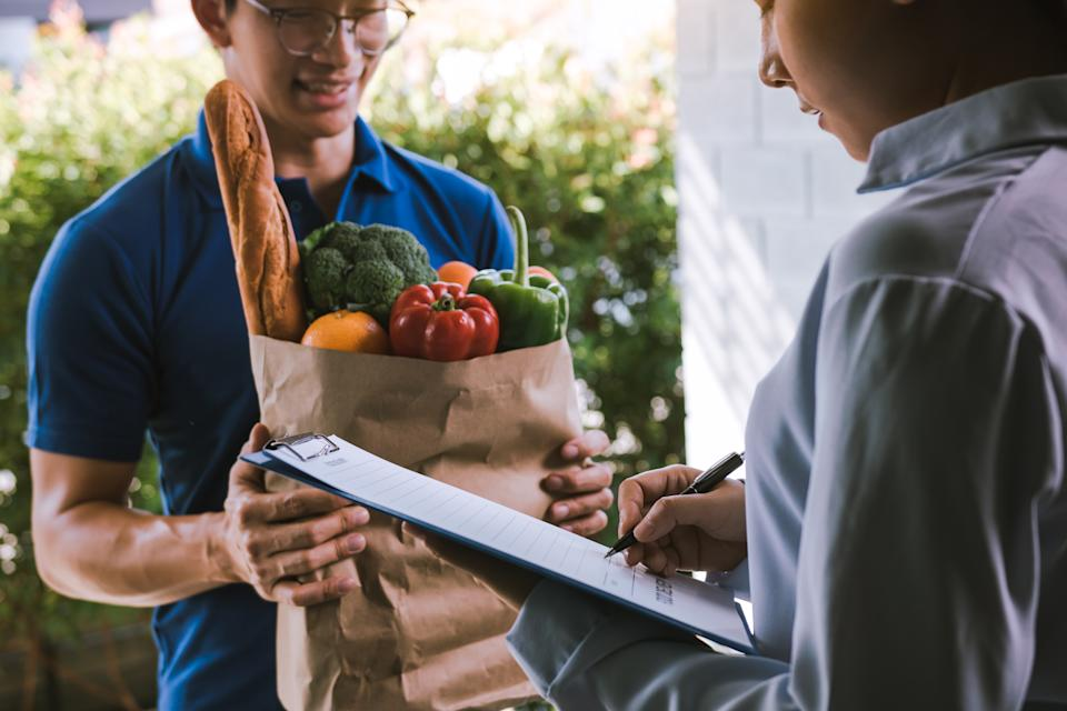 Hassenfelt, says that with time, online grocery shopping will become less expensive and savings for the personal shopping companies and grocers can be passed along to the customer. (Photo: Getty)