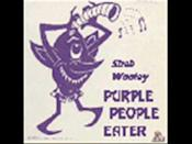 """<p>No one else has captured a monster quite so groovy as the one-eyed, one-horned, flying purple people eater. </p><p><a class=""""link rapid-noclick-resp"""" href=""""https://www.amazon.com/Purple-People-Eater-Sheb-Wooley/dp/B07RY7785L/?tag=syn-yahoo-20&ascsubtag=%5Bartid%7C10055.g.27955468%5Bsrc%7Cyahoo-us"""" rel=""""nofollow noopener"""" target=""""_blank"""" data-ylk=""""slk:ADD TO PLAYLIST"""">ADD TO PLAYLIST</a></p><p><a href=""""https://youtu.be/Rx47qrH1GRs"""" rel=""""nofollow noopener"""" target=""""_blank"""" data-ylk=""""slk:See the original post on Youtube"""" class=""""link rapid-noclick-resp"""">See the original post on Youtube</a></p>"""