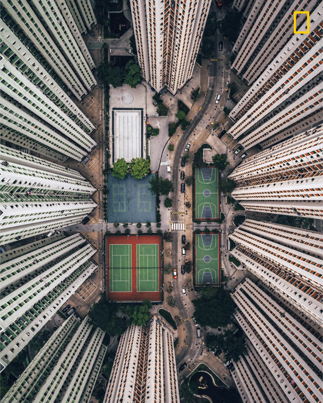"<p>Photograph and caption by Gary Cummins/National Geographic Travel Photographer of the Year Contest. — ""In this photo, I tried to bring the intense and stacked living conditions that Hong Kong is famous for into perspective for the viewer. With so many people living in small spaces, it's strange to see all these amenities empty. As a solo traveler, I'm often alone in crowds, and this photo resonates with me. I barely scratched the surface of this incredible urban environment, but this image really summarizes my experience here."" Hong Kong, China. </p>"