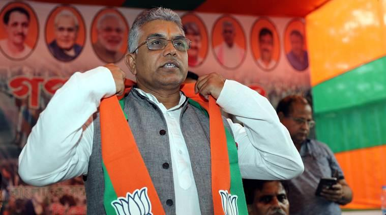 Dilip Ghosh, Dilip Ghosh on shaheen bagh, dilip ghosh on park circus, shaheen bagh, park circus caa protests, kolkata city news