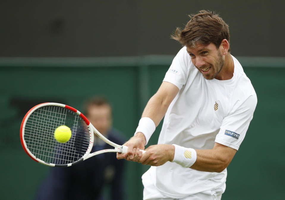 Londoner Norrie, 25, reckons he's yet to peak despite moving into the second round at SW19