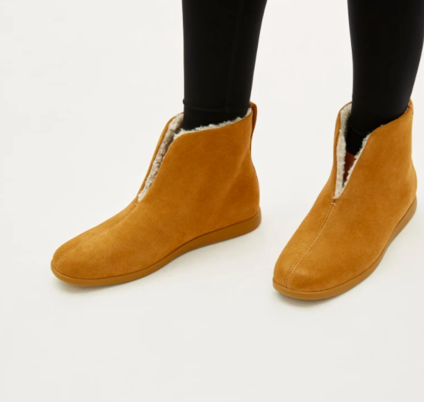 Everlane just released their first-ever slippers — and both pairs look so cozy.