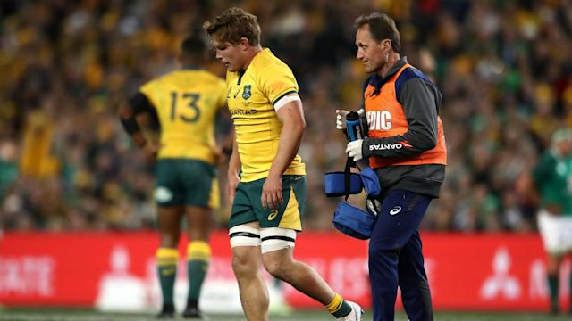 "Simon Cron would be ""stunned"" if Israel Folau is banned as the Waratahs prepare to face the Rebels without the injured Michael Hooper."