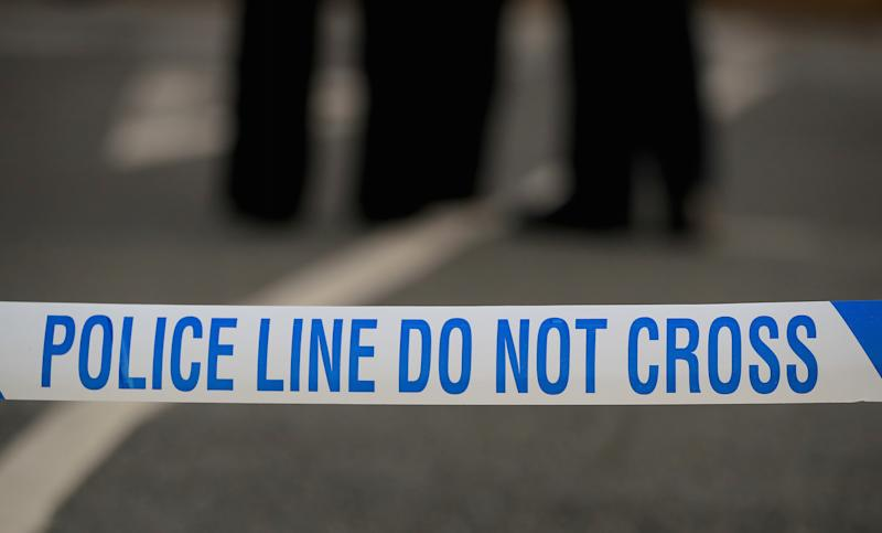 Two police officers were struck by a car during a routine drugs check in Sussex