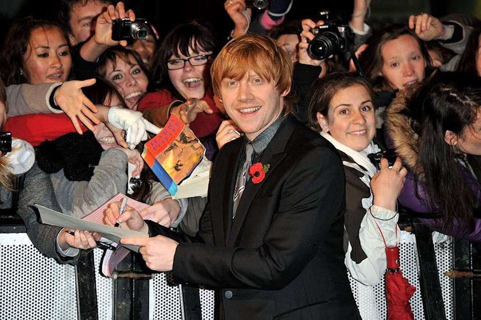 """<p>We can imagine the former Harry Potter star saying in the words of the Doctor, """"Do what I do. Hold tight and pretend it's a plan!"""" (Photo: Jon Furniss/WireImage) </p>"""