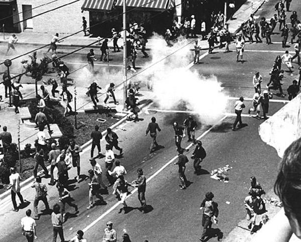 The 1969 People's Park riot. (Photo: peoplespark.org)