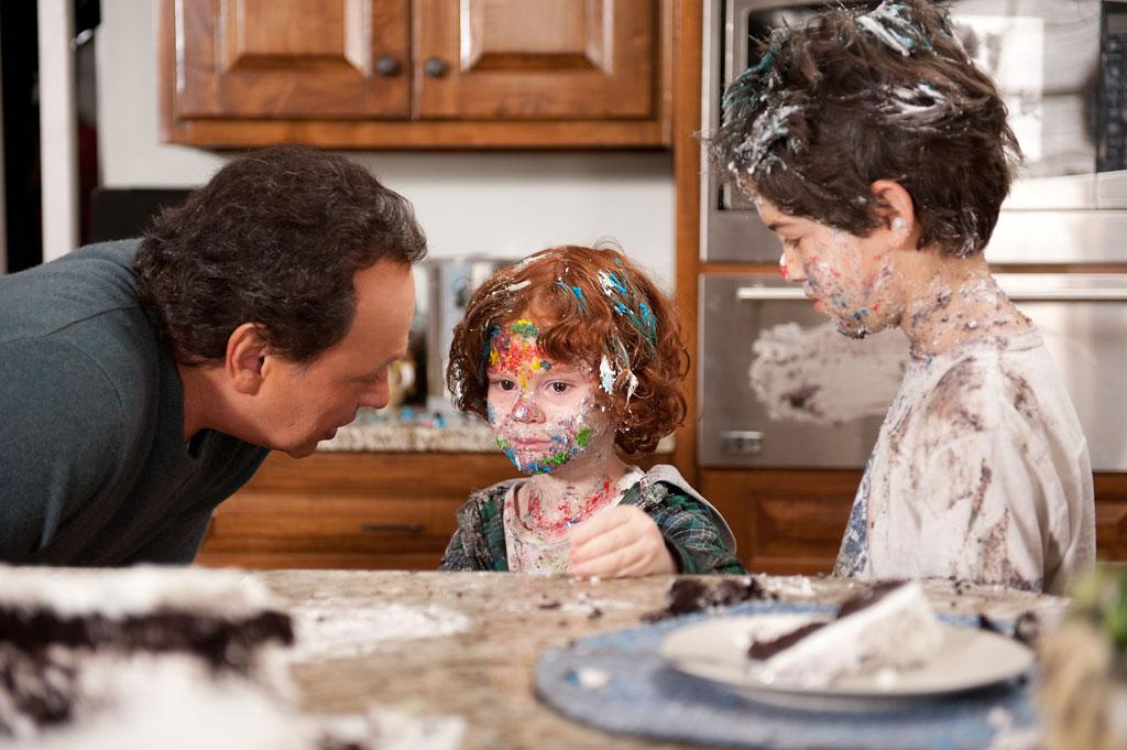 "Billy Crystal, Joshua Rush and Kyle Harrison Breitkopf in Twentieth Century Fox' ""Parental Guidance"" - 2012"