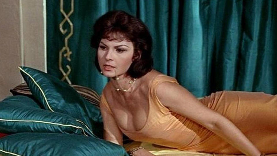 Regin was best known for her appearances in the James Bond films <em>From Russia With Love</em> and <em>Goldfinger</em>. She died on 6 April. (Credit: United Artists)
