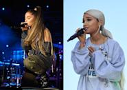 <p><strong>When:</strong> 28 March<br>At the March For Our Lives concert, Ariana Grande surprised fans by arriving on stage wearing newly ice blonde hair in a low ponytail.<br><em>[Photo: Getty]</em> </p>