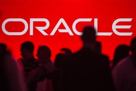 People gather prior to keynote speech at the All Things Oracle OpenWorld Summit in San Francisco