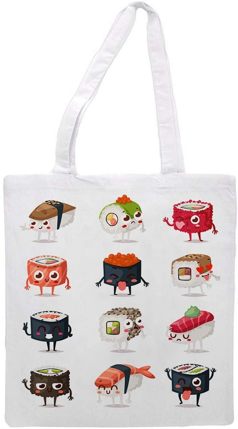 <p>They can run errands with their new best friend; this <span>Sushi Feast Tote Bag</span> ($14).</p>