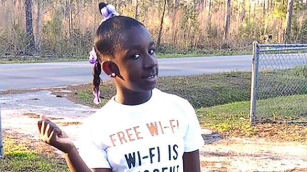 PHOTO: RaNiya Wright, a fifth-grade student at Forest Hills Elementary School is pictured in this undated photo provided by her family. (Family Photo)