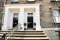 """<p>This modern and cosy apartment is set in the heart of New Town, with countless shops and mouth-watering restaurants at your doorstep. The dog-friendly Airbnb is perfect for cuddling up for a rainy night-in or exploring all that Edinburgh has to offer. It's open plan, stylish and decorated with Scottish accents throughout.</p><p><strong>Sleeps: </strong>2</p><p><strong>Price per night: </strong>£70</p><p><a class=""""link rapid-noclick-resp"""" href=""""https://airbnb.pvxt.net/oeqR0b"""" rel=""""nofollow noopener"""" target=""""_blank"""" data-ylk=""""slk:SEE INSIDE"""">SEE INSIDE</a></p>"""