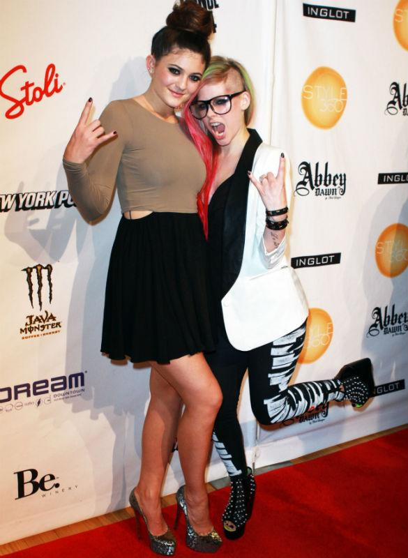 Kylie Jenner And Avril Lavigne Are BFF's At Abbey Dawn's SS13 Launch After Brody Jenner Split