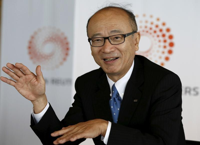 JERA Co President Kakimi speaks during the Reuters Commodities Summit in Tokyo