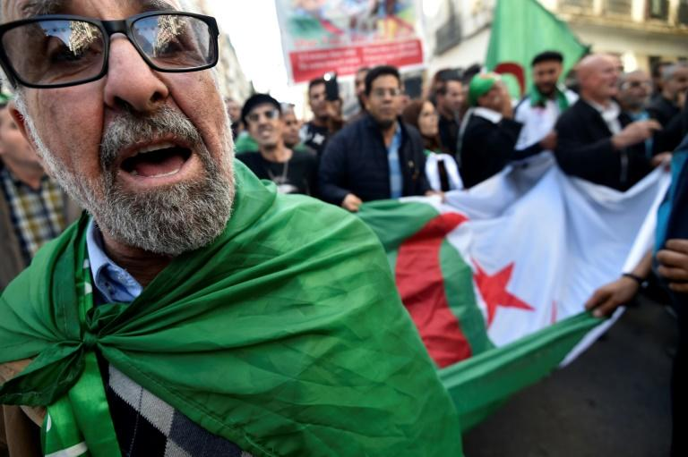 Algerians protest Friday against a presidential election set for next week that they see as an attempt by the elite to shore up its authority