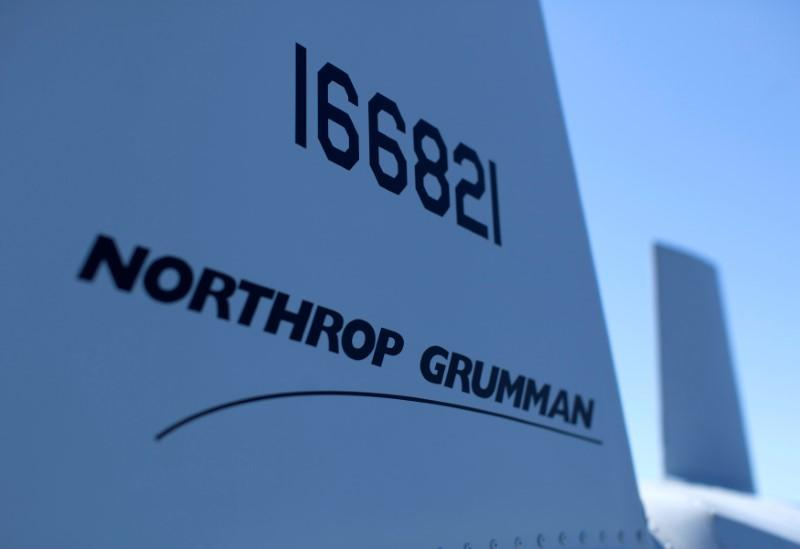 A UAV helicopter build by Northrop Gruman is on deck aboard the soon to be commissioned littoral combat ship USS Coronado during a media tour in Coronado