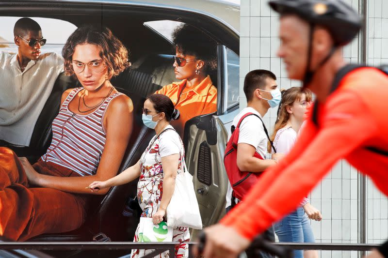 'It makes sense': French shoppers take compulsory masks in their stride