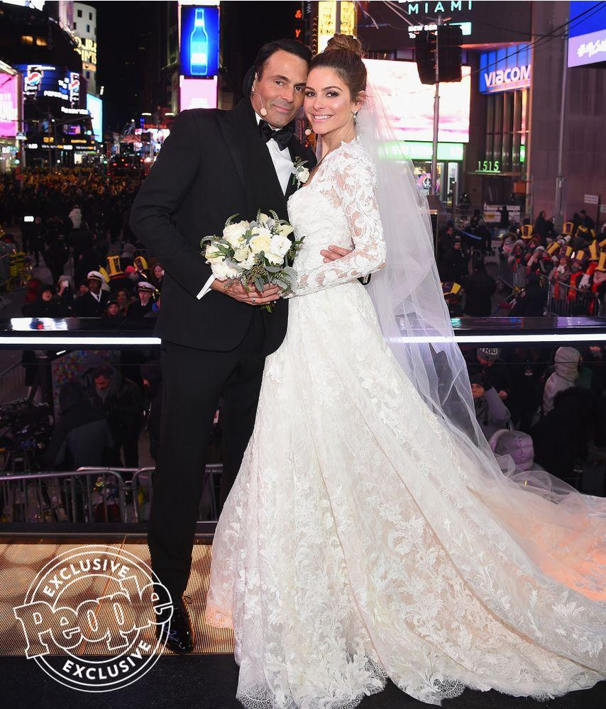 See Maria Menounos' Stunning New Year's Eve Wedding Photos