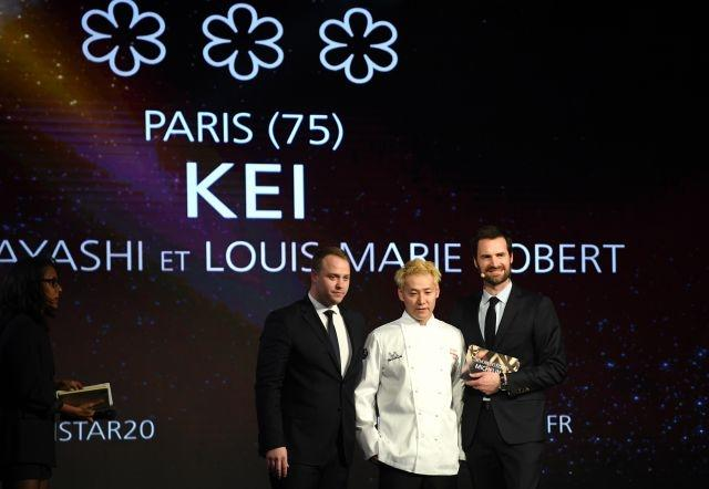 Blond ambition of Japan's history making chef
