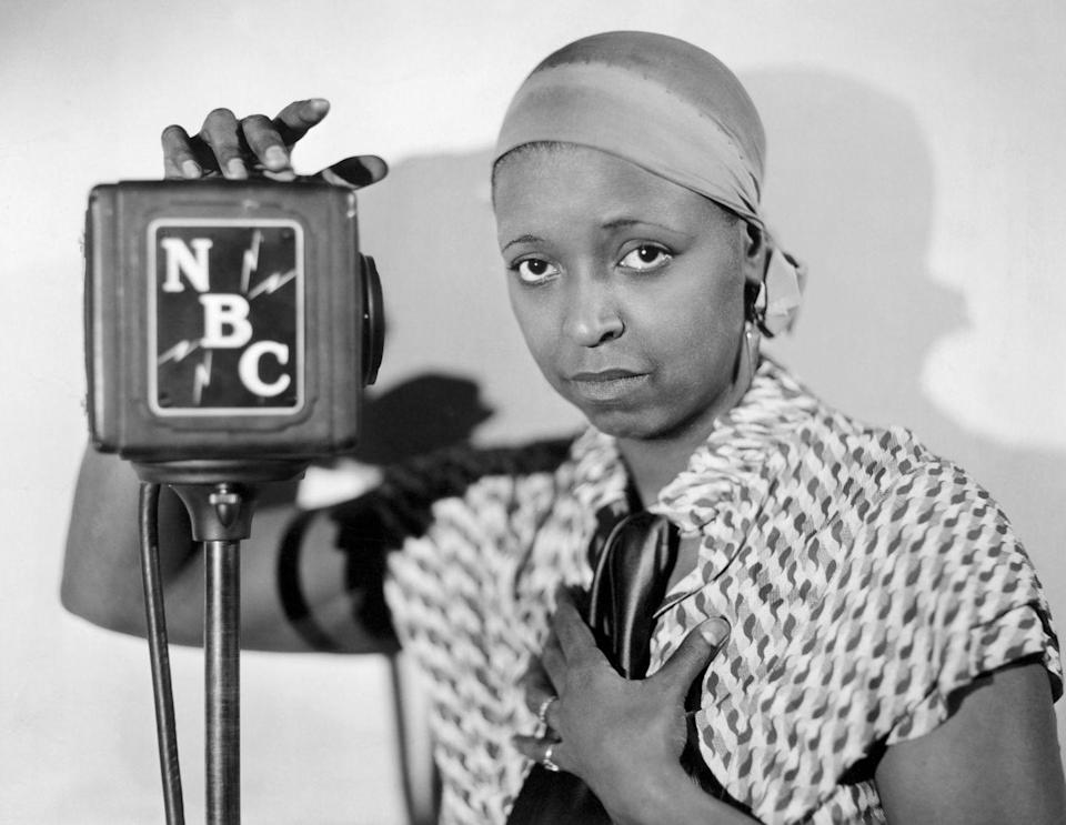 """<p>Waters first entered the entertainment business in the 1920s as a blues singer, but she made history for her work in television. In addition to becoming the first African American to star in her own TV show in 1939, <em>The Ethel Waters Show</em>, she was <a href=""""https://rsa.fau.edu/blog/gi/ethel-waters-first-african-american-nominated-emmy-1962/"""" rel=""""nofollow noopener"""" target=""""_blank"""" data-ylk=""""slk:nominated for her first Emmy"""" class=""""link rapid-noclick-resp"""">nominated for her first Emmy</a> in 1962.</p>"""