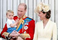 """<p><strong>What's his full name? </strong><a href=""""https://www.cosmopolitan.com/uk/reports/g32247710/prince-louis-latest-photos/"""" rel=""""nofollow noopener"""" target=""""_blank"""" data-ylk=""""slk:Prince Louis"""" class=""""link rapid-noclick-resp"""">Prince Louis</a> Arthur Charles Cambridge.</p><p><strong>Who's he named after? </strong>The Cambridge's youngest son is named after Prince William's great-granduncle, Louis Mountbatten, who was assassinated in 1979. His middle name, Arthur, is also Prince William's own middle name. And of course Charles is a nod to his grandfather, the Prince of Wales.</p><p><strong>His parents are: </strong><a href=""""https://www.cosmopolitan.com/uk/reports/g36966581/prince-william-kate-middleton-godchildren/"""" rel=""""nofollow noopener"""" target=""""_blank"""" data-ylk=""""slk:Prince William and Kate Middleton."""" class=""""link rapid-noclick-resp"""">Prince William and Kate Middleton.</a></p>"""