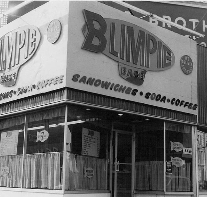 Blimpie first location