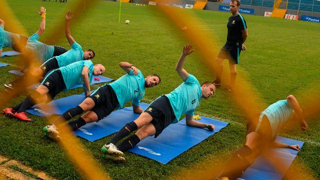 The Socceroos' preparations are in full swing. Image: Getty