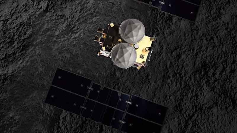 Japan's Hayabusa2 to drop an explosive on an asteroid to study its history