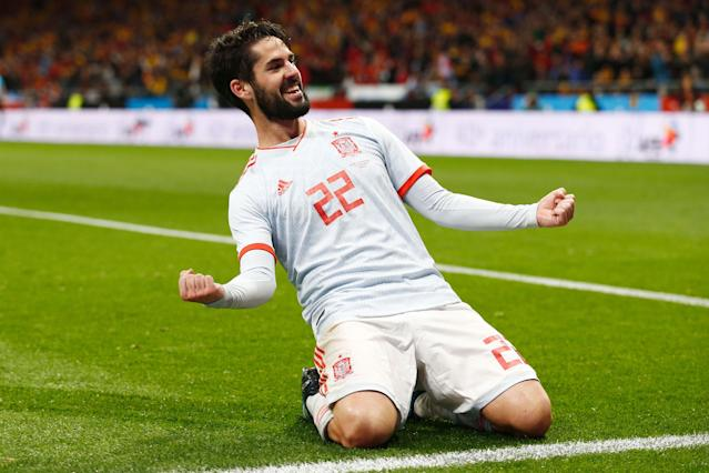 <p>Age: 26<br>Caps: 27<br>Position: Midfielder<br>It's surprising to see that a player of Isco's qualities has so few caps at his age, but it is time for him to come to the fore in the national side with the likes of Cesc Fabregas left out. </p>