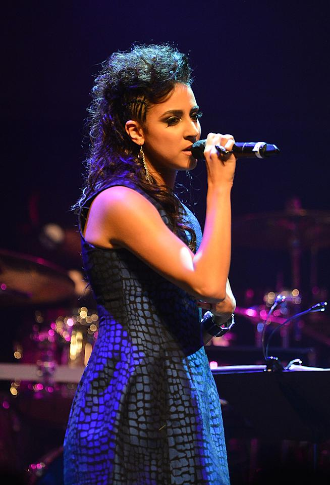 "Sylvia Yacoub at a special live performance event celebrating the Top 12 artists of ""The Voice"" on November 8, 2012 at the House of Blues in Hollywood, CA."