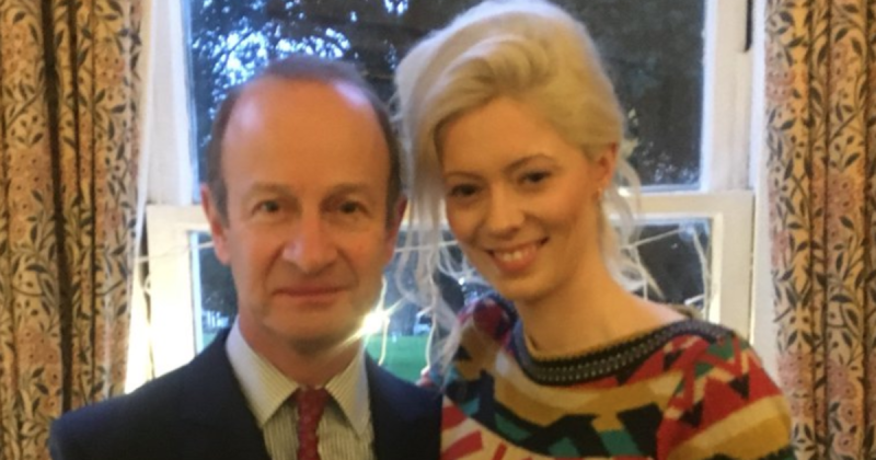 Under-fire Ukip leader Henry Bolton had an intimate dinner with an ex-girlfriend who made racist and derogatory comments about Meghan Markle tonight – just days after claiming their relationship was over.