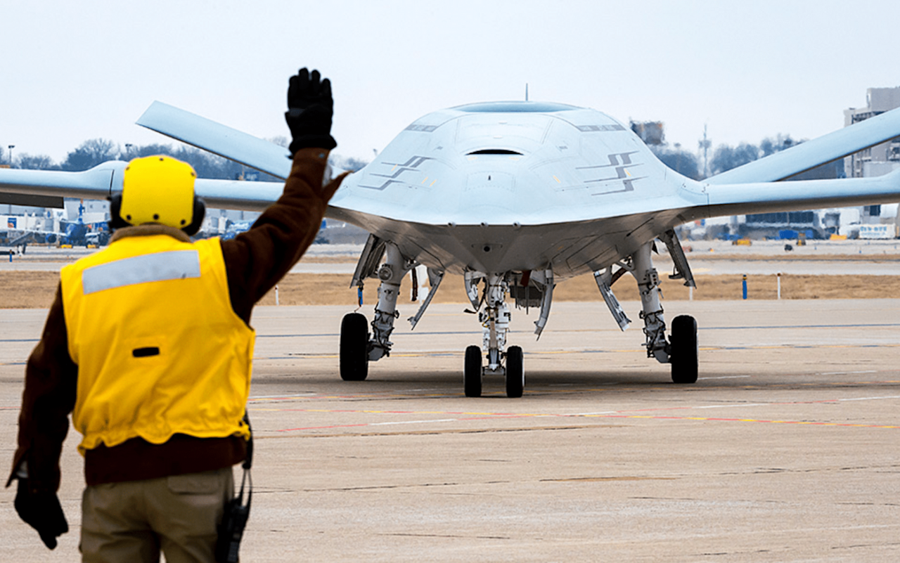 Meet the Navy's MQ-25 Stingray: A Stealthy Refueling Drone