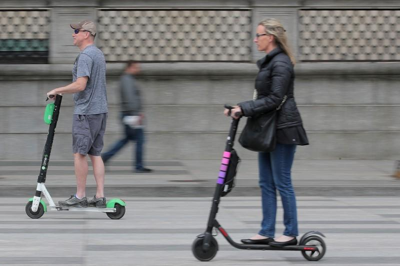 Electric scooter injuries rising, one-third involve the head