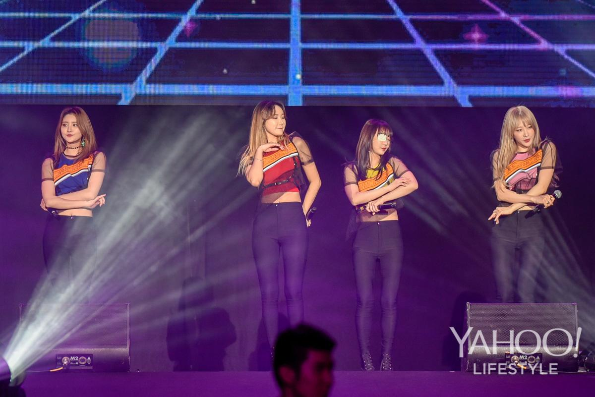 PHOTOS: K-pop groups EXID, JBJ and B1A4 rock crowd at Singapore Indoor Stadium
