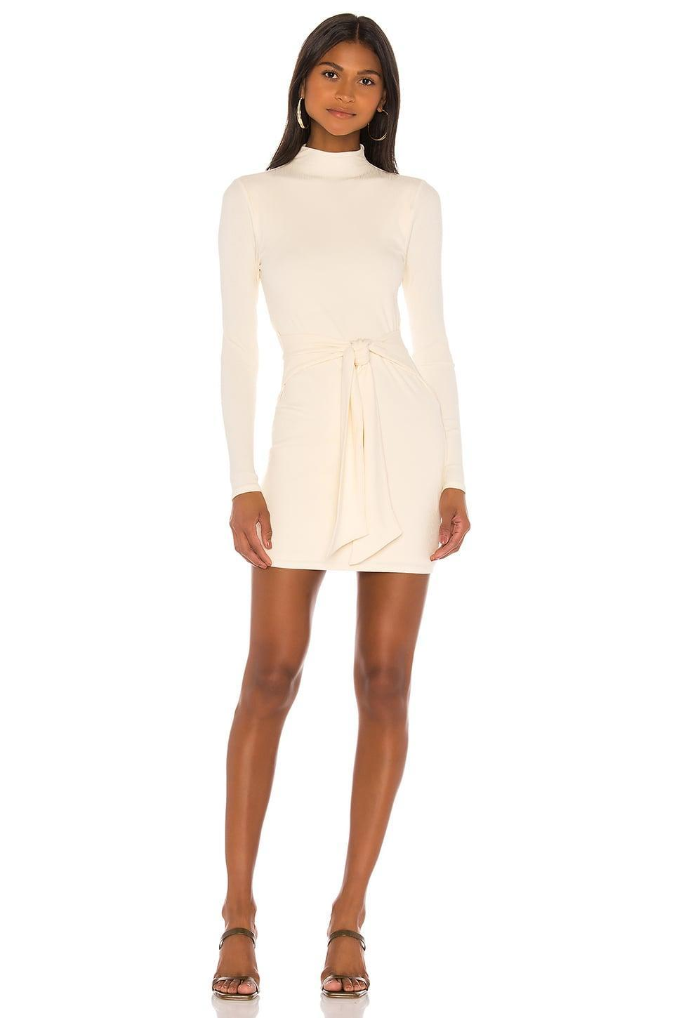 <p>We'd wear this <span>Privacy Please Gisele Mini Dress</span> ($145) all the time.</p>