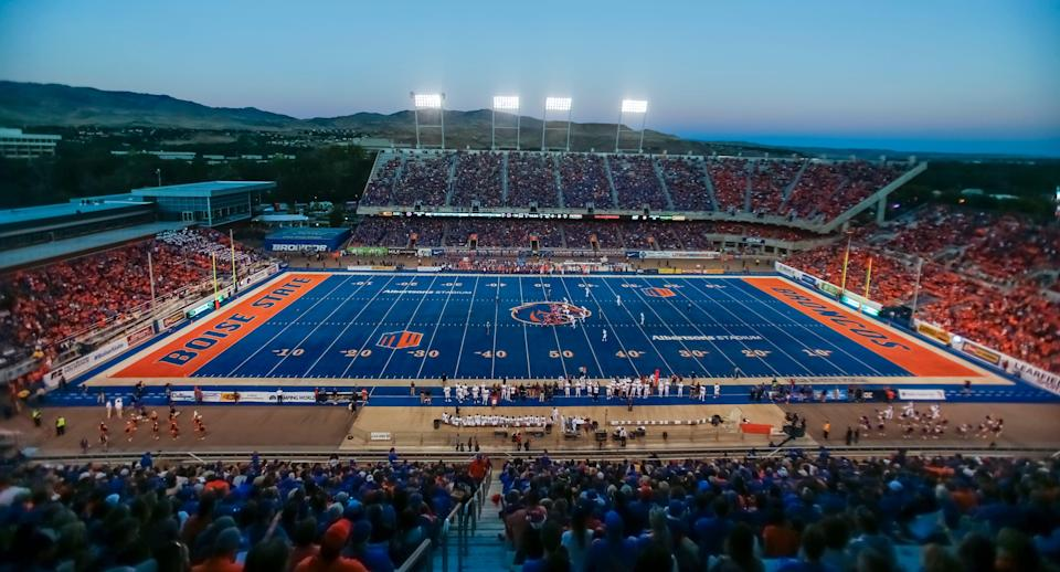 Love the blue turf or hate the blue turf — and there are legions of football fans on each side — the blue turf has elevated the Boise State brand.