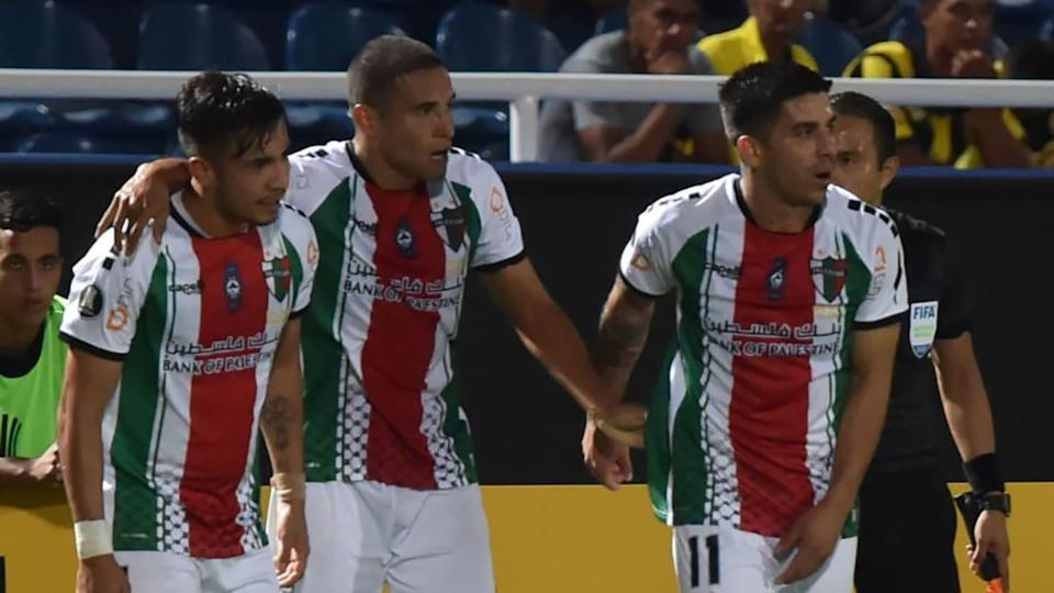 Palestino, do Chile, tenta uma vaga na fase de grupos | NORBERTO DUARTE/Getty Images