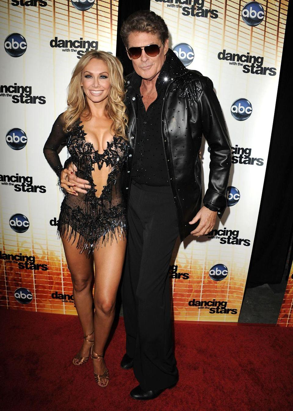 <p>Kym Johnson and David Hasselhoff only made it to week 1 during season 11, but apparently that was all his partner needed. After the pair left the ballroom for good, rumors began circulating that Kym couldn't put up with Hasselhoff's diva-like behavior when it came to scheduling rehearsals. </p>