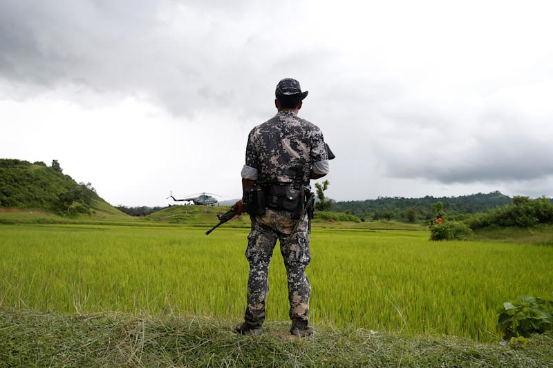 Myanmar Says Its Soldiers Are to Blame For the Deaths of 10 Rohingya Found in a Mass Grave