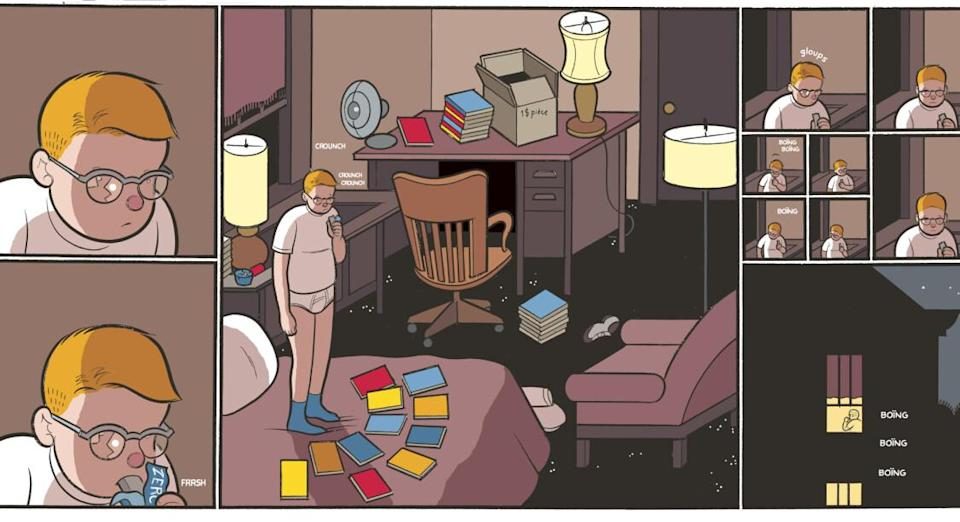 © Chris Ware/Delcourt