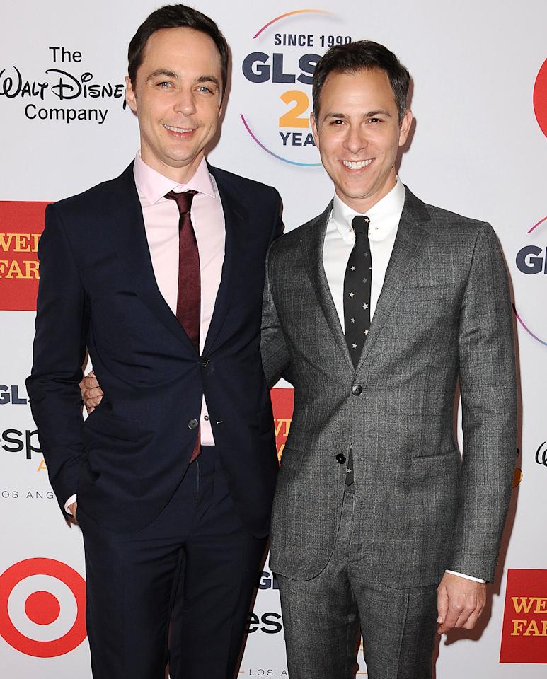 Jim Parsons Wedding: Surprise! From Mickey And Grant To Jen And Justin: Stars