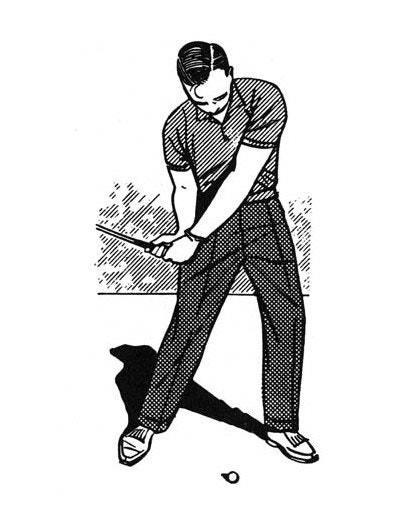 Many golfers discover they can hit the ball squarely more frequently if they don't swing hard. So they lose the will to be aggressive. The problem is that swinging easy becomes a difficult habit to break. As soon as the soft hitters try to add some more power, they begin to miss shots. I think that almost any golfer can learn to hit the ball hard and squarely.