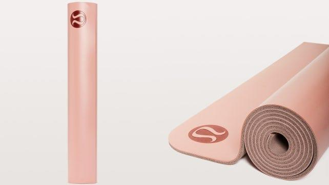 Master your mountain pose with this durable yoga mat.