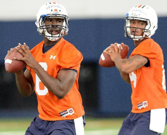 Malzahn: Johnson will start for Auburn at QB