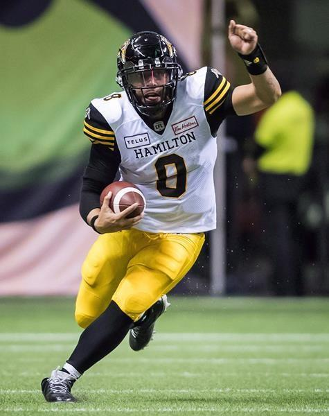 Masoli, Mitchell named as finalists for CFL's outstanding player award