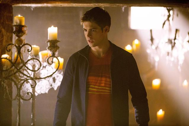 "Steven R. McQueen as Jeremy Gilbert in ""Growing Pains,"" the Season 4 premiere episode of ""The Vampire Diaries."""