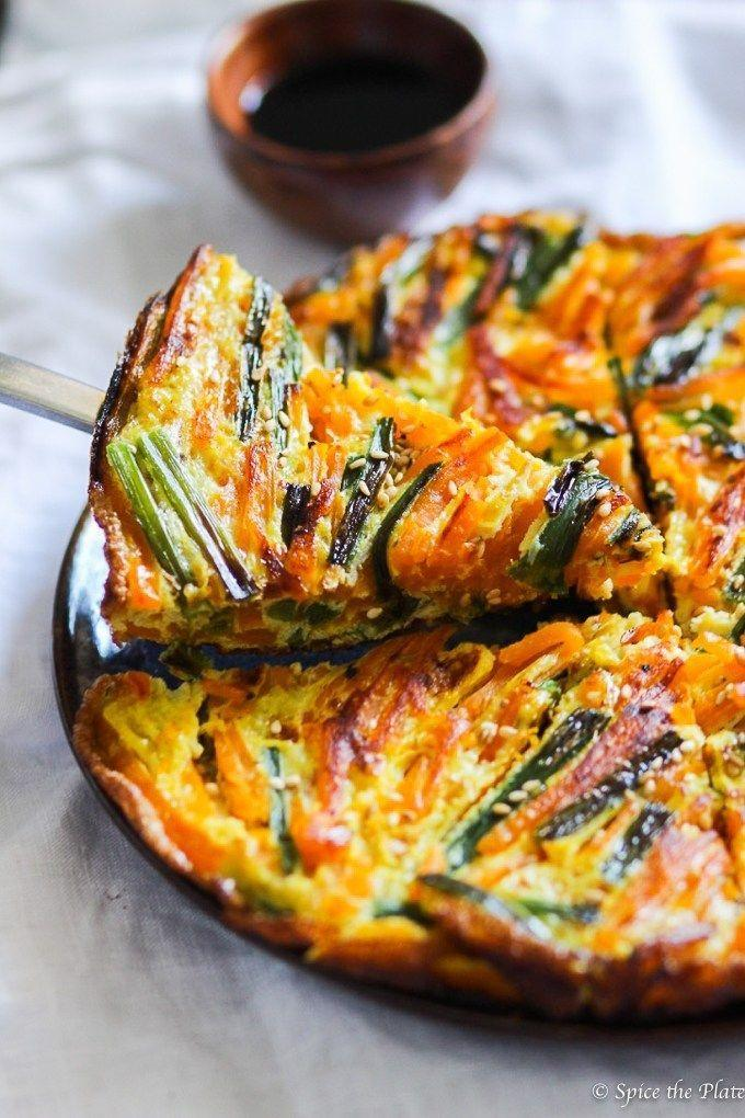 """<p>Although this omelette looks intricate, it's actually super simple to make. All you need is a handful of ingredients and 20 minutes.</p><p><strong>Get the recipe at <a href=""""https://www.spicetheplate.com/veggie/chinese-style-pumpkin-omelette/"""" rel=""""nofollow noopener"""" target=""""_blank"""" data-ylk=""""slk:Spice the Plate"""" class=""""link rapid-noclick-resp"""">Spice the Plate</a>.</strong></p><p><strong><a class=""""link rapid-noclick-resp"""" href=""""https://www.amazon.com/Victoria-Skillet-Seasoned-Flaxseed-Certified/dp/B01726HD72/?tag=syn-yahoo-20&ascsubtag=%5Bartid%7C10050.g.619%5Bsrc%7Cyahoo-us"""" rel=""""nofollow noopener"""" target=""""_blank"""" data-ylk=""""slk:SHOP SKILLETS"""">SHOP SKILLETS</a><br></strong></p>"""