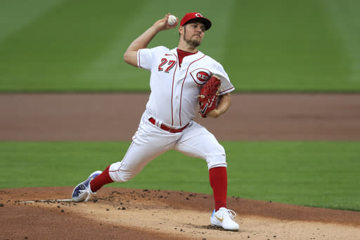 Bauer leads Reds rotation against Braves' powerful lineup