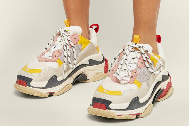 9b9828b6407a Balenciaga Updates the Trendy Triple S Sneaker for Spring  18 With New  Colors and Materials
